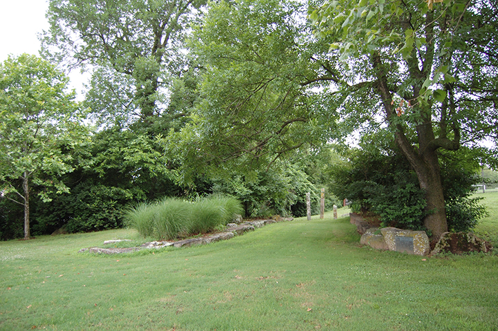 Trail of Tears commemorative park in Fayetteville, Arkansas